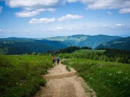 Feldberg, the largest mountain in the Black Forest